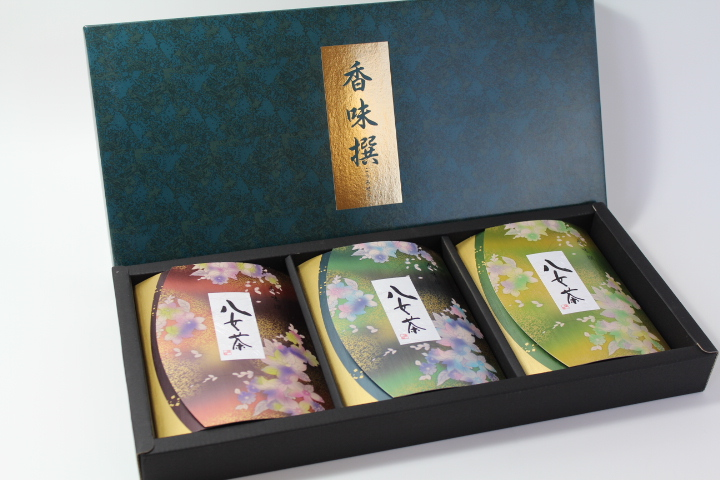 Yame Superior Sencha green tea gift set